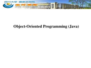 Object-Oriented Programming (Java)