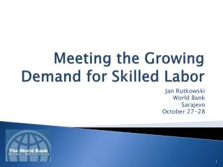 Meeting the Growing Demand for Skilled Labor