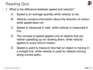 What is the difference between speed and velocity?