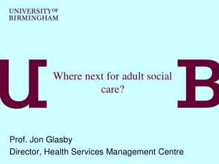 Where next for adult social care?