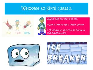 Welcome to  Sikhi Class  2