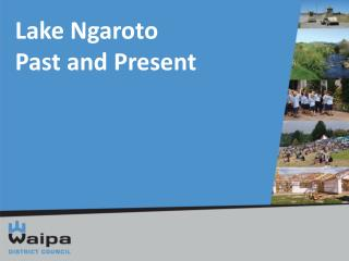 Lake Ngaroto Past and Present