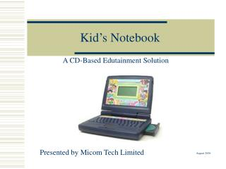 Kid's Notebook