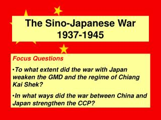 The Sino-Japanese War 1937-1945