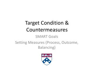 Target Condition & Countermeasures