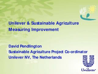 Who is Unilever?
