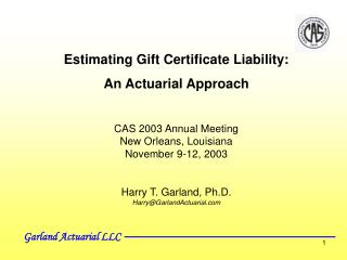 Garland Actuarial LLC