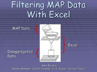Filtering MAP Data  With Excel