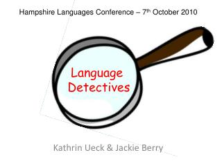 Language  Detectives