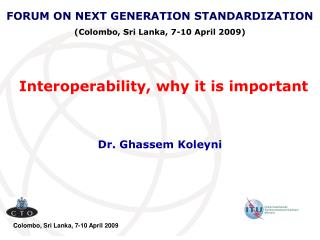 Interoperability, why it is important