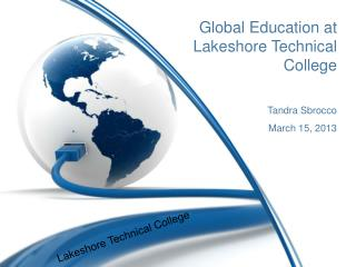 Global Education at Lakeshore Technical College