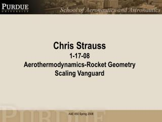 Chris Strauss 1-17-08 Aerothermodynamics-Rocket Geometry Scaling Vanguard