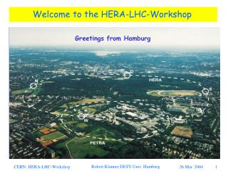 Welcome to the HERA-LHC-Workshop
