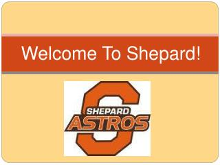 Welcome To Shepard !