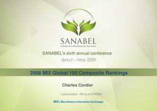 SANABEL's sixth annual conference