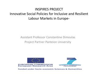 INSPIRES PROJECT  Innovative Social Policies for Inclusive and Resilient Labour Markets in Europe-