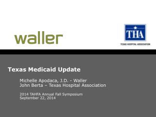Texas  Medicaid  Update