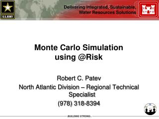 Monte Carlo Simulation using @Risk