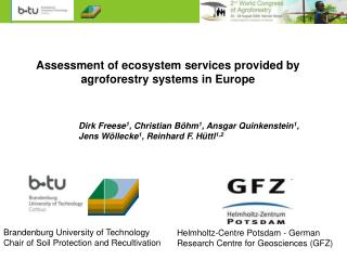 Assessment of ecosystem services provided by agroforestry systems in Europe