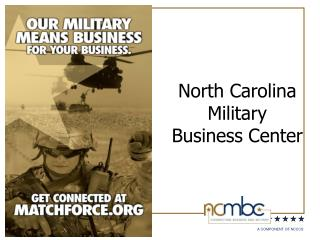 North Carolina Military Business Center