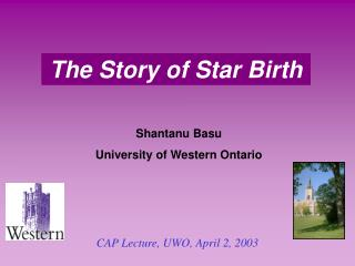 The Story of Star Birth