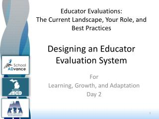 For  Learning, Growth, and Adaptation Day 2