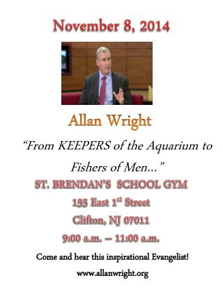 """From KEEPERS of the Aquarium to Fishers of Men…"""