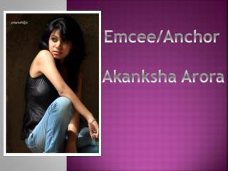 Emcee/Anchor