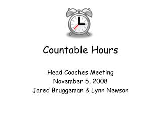 Countable Hours