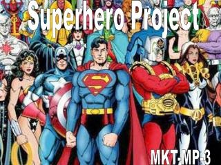 Superhero Project