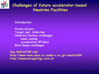 Challenges of future accelerator-based  Neutrino Facilities
