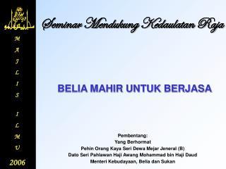 Seminar Mendukung Kedaulatan Raja