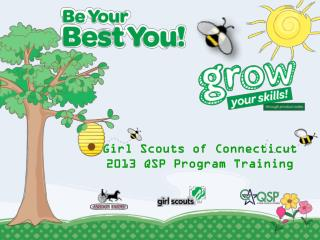 Girl Scouts of Connecticut 2013 QSP Program Training