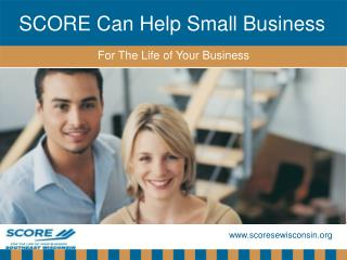 SCORE Can Help Small Business