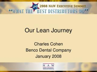 Our Lean Journey