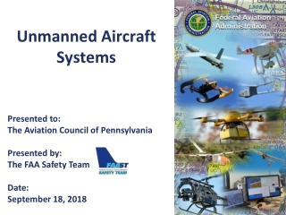Integrating Unmanned Aircraft Systems into the National Airspace System