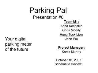Parking Pal Presentation #6