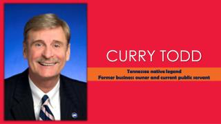 Curry Todd, Tennessee native