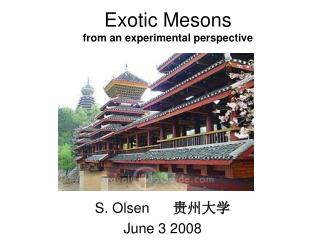 Exotic Mesons from an experimental perspective