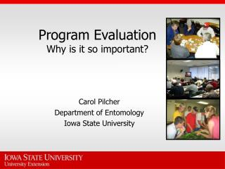 Program Evaluation Why is it so important?