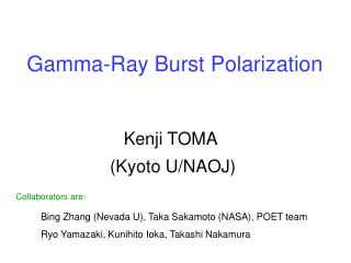 Gamma-Ray Burst Polarization