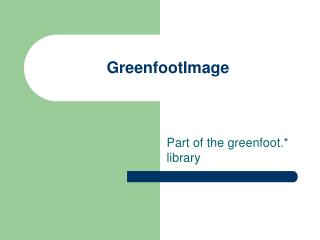 GreenfootImage