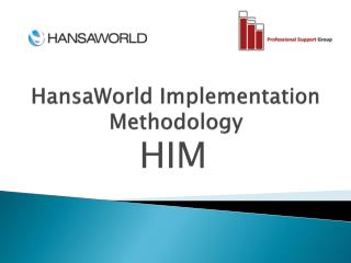 HansaWorld  Implementation Methodology