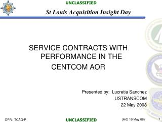 St Louis Acquisition Insight Day