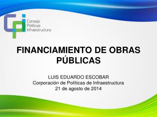 FINANCIAMIENTO DE OBRAS PÚBLICAS