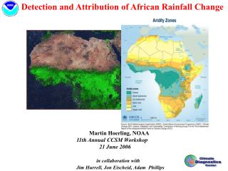 Detection and Attribution of African Rainfall Change