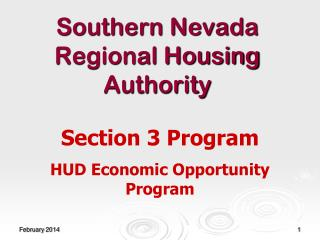 Southern Nevada Regional Housing Authority