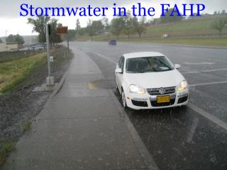 Stormwater in the FAHP