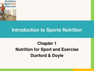 Introduction to Sports Nutrition