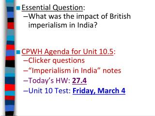 positive impact british imperialism india Free 593 words essay on positive and negative effects of british rule in india for school and college students india was under british colonial rule from 1857 till 1947.